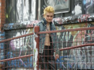 Billy Idol is very macho, no?